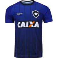 Camisa De Treino Do Botafogo 2018 Topper - Masculina - Azul d76374bbc8539