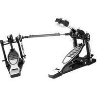 Pedal De Bumbo Em Aço Tração Corrente Dupla X-Pro Drums