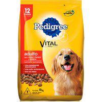 Ração Para Cães Pedigree Vital Pro Adultos Sabor Carne, Frango E Cereais 18Kg