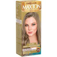 Tintura Creme Maxton 8.1 Louro Claro Acinzentado Com 1 Unidade 1 Unidade
