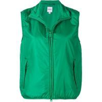 Aspesi Zipped Gilet - Verde