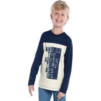 Camiseta Infantil Trick Nick Azul