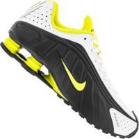 Tênis Nike Shox R4 - Masculino - Preto/Amarelo