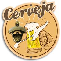 Abridor De Garrafas De Parede Cerveja Único
