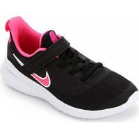 Tênis Nike Infantil Rival 2 Velcro - Masculino-Preto+Rosa