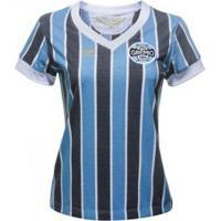 Camisa Umbro Grêmio Retrô 1893 Feminina - Feminino