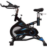 Bicicleta Para Spining Acte Pro - Preta & Azul - 106Acte