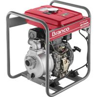 Motobomba A Diesel Branco Bd-710E 5.0Cv Partida Elétrica