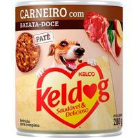 Ração Para Cães Keldog Cordeiro Com Batata Doce Lata 280G