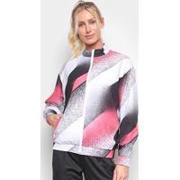 Jaqueta Adidas Uc Feminina - Feminino-Branco+Rosa
