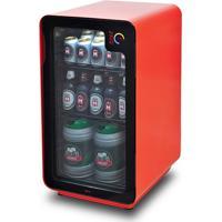 Cervejeira Frost Free Com Wi-Fi 220V Com 100 Litros Vermelha