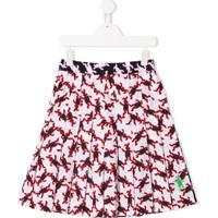 Marni Kids Bunny Rabbit Print Skirt - Branco