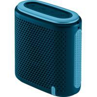 Caixa De Som Pulse Mini Bluetooth/Sd/P2 10W Rms Azul E Verde - Sp237