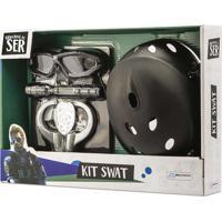 Brincando De Ser Kit Swat Com Acessórios Indicado Para +3 Anos Multikids Br966