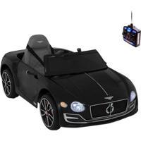 Carro Infantil Eletrico Bentley Exp12 6V Com Controle Remoto - Unissex