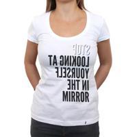 Mirror - Camiseta Clássica Feminina