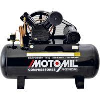 Compressor De Ar 5Hp Trifásico 220/380V 175 Psi Cmav-20/200 Motomil