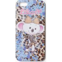 """Case Iphone 5/5S Animal Print """"Lilica Ripilica®"""" - Azul Lilica Ripilica E Tigor T. Tigre"""