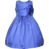 Vestido Gira Baby Kids Festa Azul