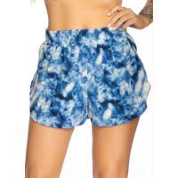 Shorts Azul