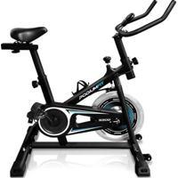 Bicicleta Ergométrica Spinning Podiumfit S200 Silenciosa - Unissex-Preto