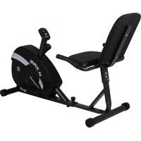 Bicicleta Ergométrica Horizontal Max H, Painel Em Lcd Multifunções, Possui Regulador De Esforço, Suporta Até 110 Kg - Dream