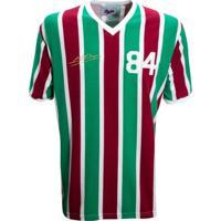 Camisa Liga Retrô Assis 1984 - Masculino-Vermelho+Verde