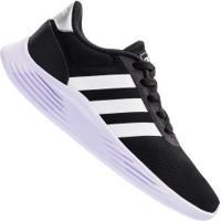 Tênis Adidas Lite Racer 2.0 K Feminino - Infantil - Preto/Branco