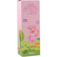 Colonia Cheirinho De Bebê Rosa 750Ml