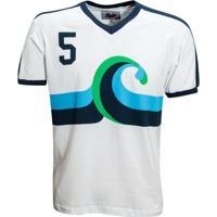Camisa Liga Retrô California Surf 1980 - Masculino