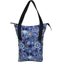 Shopping Bag Source - Hongos - Estampado - Altura 40 Cm X Largura 37 Cm X Comprimento 10 Cm