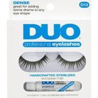 Cílios Postiços Eyelashes D13 Duo - Cílios Postiços Kit - Feminino-Incolor