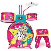 Barbie Bateria Infantil Fabulosa - Fun Divirta-Se