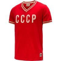 Camisa Retrô Gol Seleção Cccp Edição Limitada Masculina - Masculino
