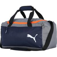 Mala Puma Fundamentals Sport S - Azul Esc/Cinza