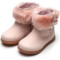 Bota Klin Infantil Miss Fashion Rosa