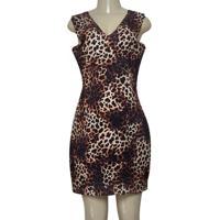 Vestido Fem Dopping 018063011 Onca