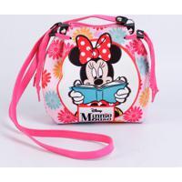 db5cace7c Dafiti; Bolsa Infantil Estampa Minnie Disney