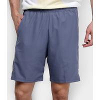 Short Nike Court Dry 9In Masculino - Masculino-Cinza+Branco