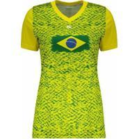 Camiseta Kanxa Brasil Feminina - Feminino