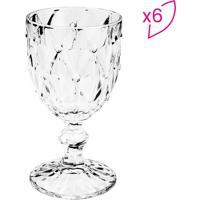 Jogo De Taã§As Para Vinho Diamond- Incolor- 6Pã§S-Rojemac