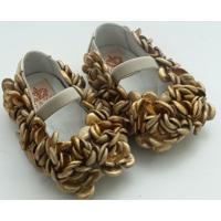 Sapato Gliter Light Gats - Feminino-Dourado