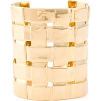 Aurelie Bidermann Bracelete 'Marella' Com Banho De Ouro 18K - Metálico