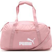 Bolsa Puma Phase Sports Bag Rosa - Rosa - Dafiti