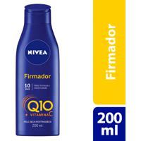 Loção Nivea Firmador Q10 Vitamina C 200Ml Para Pele Seca Extrasseca