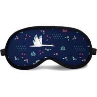 Máscara De Dormir Tritengo Cisne - Unissex-Azul