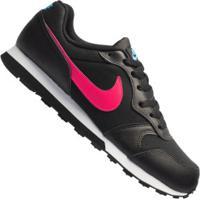 Tênis Nike Md Runner 2 Gs Feminino - Infantil - Preto/Azul Cla