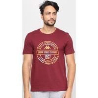 Camiseta Kappa Urban Street Masculina - Masculino-Grená