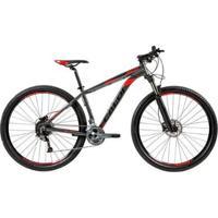 "Bicicleta Mtb Caloi Moab Aro 29 Susp Dianteira Quadro Alumínio 17"" 27 Vel - Unissex"