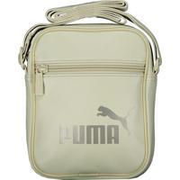 Bolsa Puma Core Up Portable Feminina Bege
